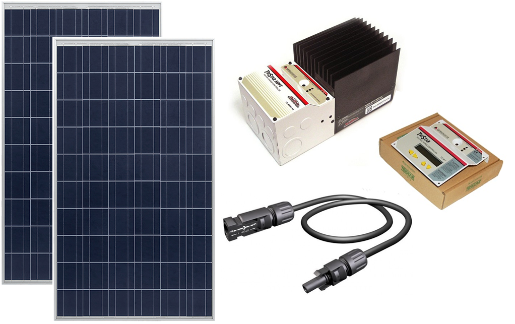 Wego Cabin Ts30mppt Cabin System Kit 530w Of Solar With