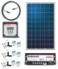 265 Watt Solar Panel RV Kit with MPPT Solar Contoller and Remote Display