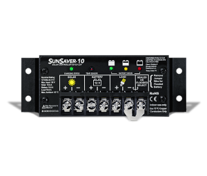 SunSaver 10 SS-10 10A 12VDc Solar Charge Controller regulator