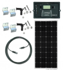 RV160-EWC-30 160 Watt Solar Panel RV Kit with 12VDC 30A PWM Solar Controller