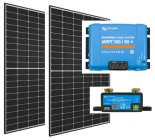 Cabin Solar Kit with 2 x 60 Cell Panels and Victron 100/50 MPPT Solar Controller