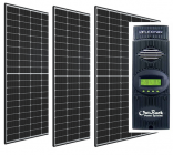 Cabin Solar Kit with 3 x 60 Cell Panels and Outback FM-80 MPPT Controller