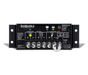 SunSaver 6 SS-6 6A 12VDC Solar Controller