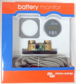 Victron Battery Monitor with Shunt that monitors Bluetooth on your smart device phone or tablet
