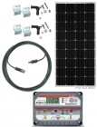 RV160-PS-15M 160 Watt Solar Panel RV Kit with 12VDC 30A PWM Solar Controller