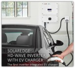 SolarEdge HD-Wave Inverter with EV Charger