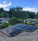 Solar Panel Flush Mount racking for 3 panels