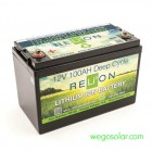 RELiON 12V 100AMP Hour Lithium Battery