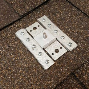 Solar panel racking shingle flashing kit FR-Tallon