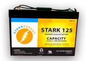 SKR-125AGM Stark AGM 12V Solar Battery Sealed 125A