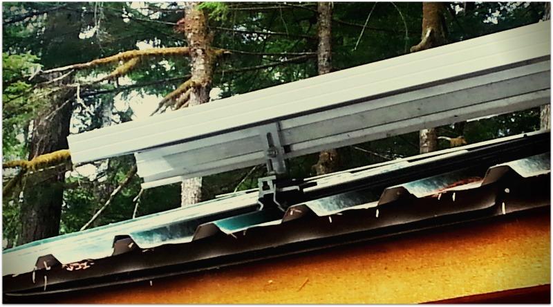 Corruslide Solar Panel Roof Mount Solution For Corrugated