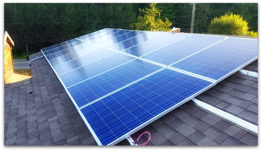 Solar Panels Vancouver Island Bc Canada Chemainus Bc