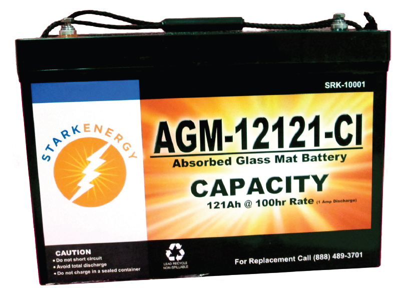 Deep Cycle Batteries - Stark Energy
