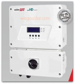 Solar Electric SolarEdge Grid tie HD Inverter