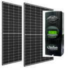 Cabin Solar Kit with 2 x 60 Cell Panels and Outback FM-60 MPPT Controller