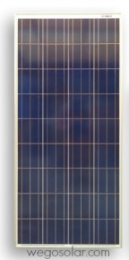 160W Solar Panel Poly