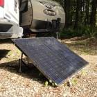 180W Folding Solar Panel Kit