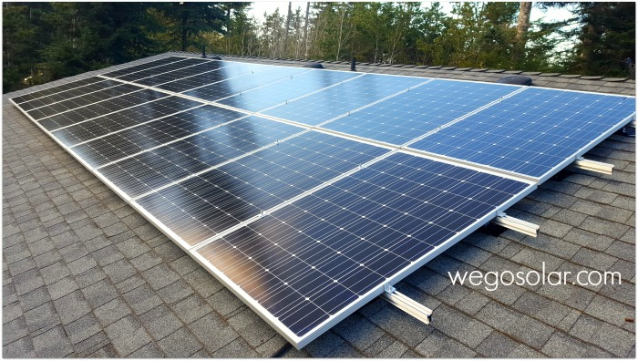 Solar Panel Mounts - Fast Racking - We Go Solar Canada